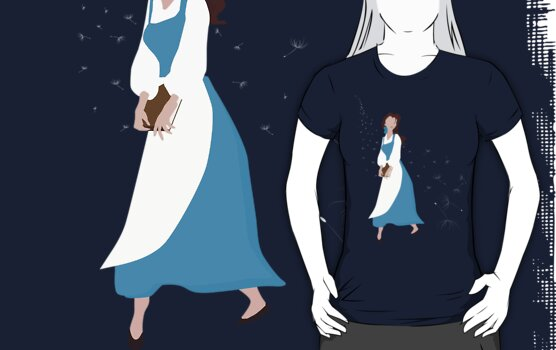 Belle Beauty and the Beast by ChiChiDesigns