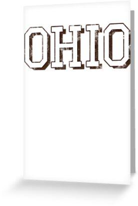 Block Letter Ohio by JoeDGemma