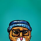 Hipster Cat by MBraat