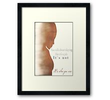 Kendra - The Second Slayer Framed Print