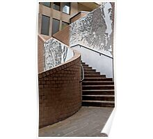 Jack Mundey Place Stairway Poster