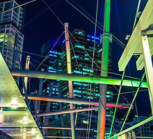 Kurilpa Bridge, Brisbane by CatAstrophe