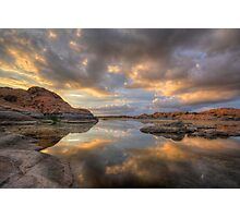 Granite Monsoon Photographic Print
