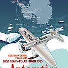 Antarctica Northrop Gamma by contourcreative