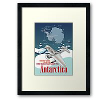 Antarctica Northrop Gamma Framed Print