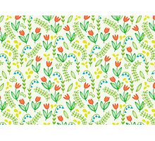 Floral meadow Photographic Print