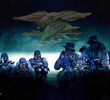 US Navy Seals by A. Hermann