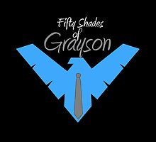 50 Shades Of Dick Grayson Nightwing digital by justin13art