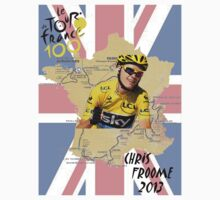 Chris Froome - Le Tour De France 2013 (100th) by Marjuned