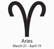 Zodiac sign Aries March 21 - April 19 by Adrian Bud
