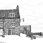 Harbour house: Crail in Fife, Scotland by Grant Wilson