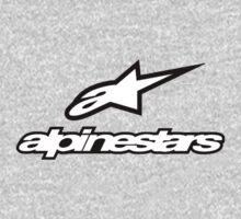 Alpinestars Badge Logo (Sticker / T-Shirt) by vincepro76