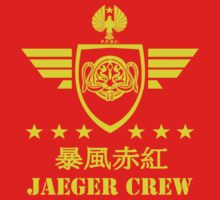 Jaeger Crew Crimson Typhoon by kingUgo