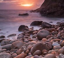 Porth Nanven Sunset by MikeBarber
