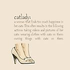 Cat lady by likefeathers