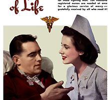 Symbol Of Life -- Army Nurse Corps WW2 by warishellstore