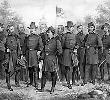 Union Generals of The Civil War by warishellstore