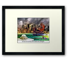 The Awful Truth Framed Print