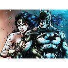 Wonder Woman & Batman by Alexandria  Rodriguez