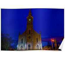 St Mary's in Port Washington Wisconsin Poster