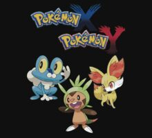 Pokemon: X and Y Starters by MichaelTheCohn