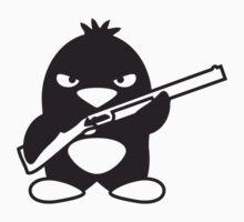 Shotgun Penguin by Style-O-Mat