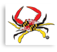 Maryland Crab Original Canvas Print
