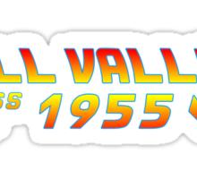 Hill Valley Class of 1955 Sticker