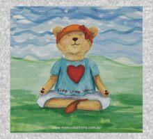 Live Love Yoga Bear  Kids Clothes