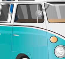 Hippie VW Bus  Sticker
