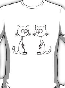Comic Cats T-Shirt