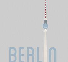 Berlin Print by Adam Newton