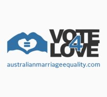 #Vote4Love (Logo) - Tshirts, Hoodies & Kids Clothes Kids Clothes