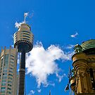 Old and newer buildings, Sydney, Australia. by johnrf