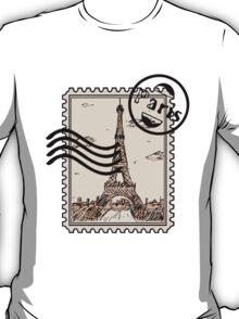 Paris Stamp T-Shirt