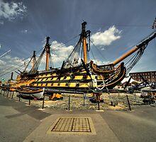 HMS Victory by Rob Hawkins