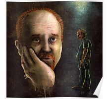 Louis C.K. Dripping Awesome Sauce Poster