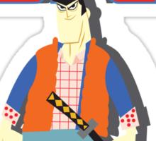 Samurai JackFly Sticker