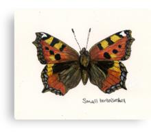 Small tortoiseshell Canvas Print