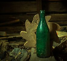 An Old Bottle by Errne