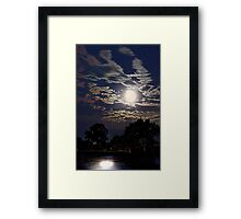 Supermoon - July 2013  Framed Print