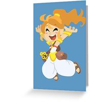 Happy Marle - Chrono Trigger Greeting Card