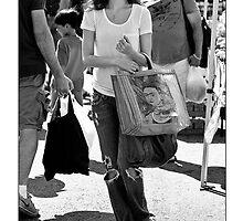 Summer Glau - Bohemian Frida Fan by Ron Dubin