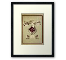 Marauders - Up to No Good & Managing Mischief Since 1971 Framed Print