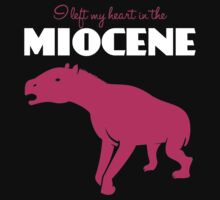 I Left My Heart in the Miocene T-Shirt