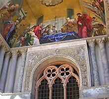 Window in Basilica di San Marco by lezvee