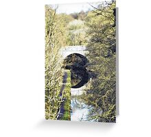 Bridge Over the Canal Greeting Card