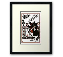 Alice In Wonderland; A Play. Framed Print