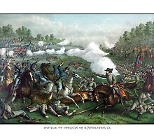 The Battle of Winchester -- Civil War  by warishellstore