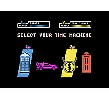 Select Your Time Machine V2 Photographic Print